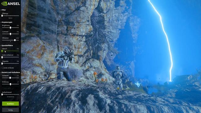 Beispiele: Mass Effect Andromeda und Ghost Recon Wildlands