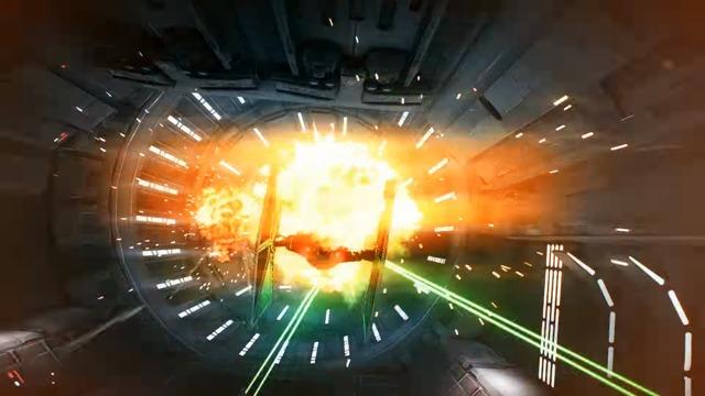 Sternenjäger-Angriff Spielszenen-Trailer