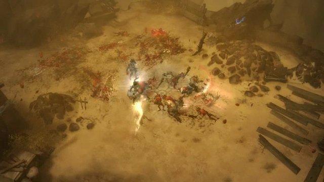 BlizzCon 2009 Spielszenen Wüste