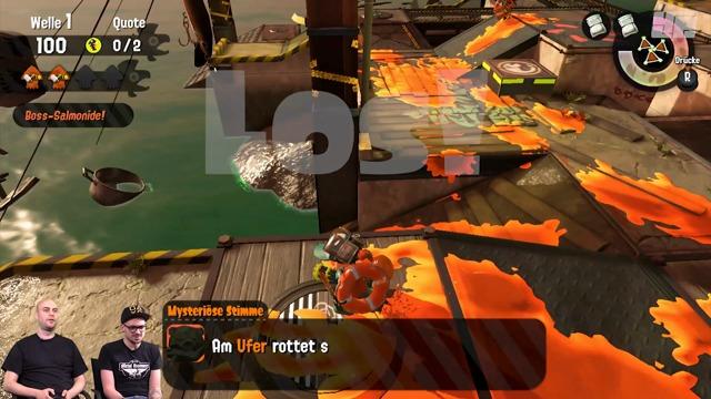 Exklusive Salmon-Run-Spielszenen (Offline-Koop)